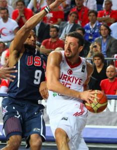 USA vs Turkey Basketball
