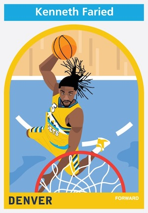 Everyplayerintheleague Kenneth Faried