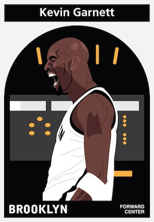 Everyplayerintheleague Kevin Garnett